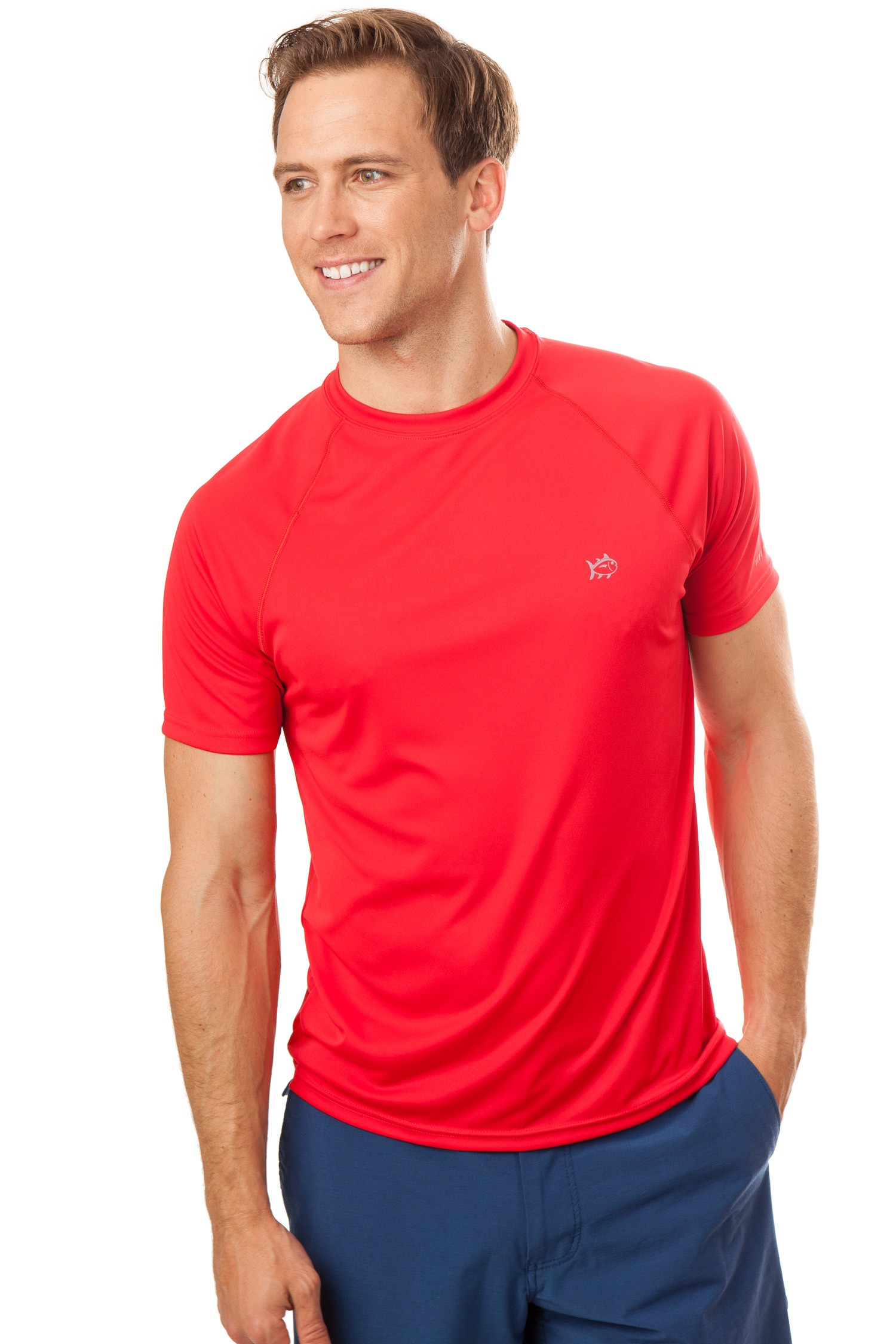 Tide to Trail Performance T-Shirt - Southern Tide Apparel at Cahill & Swain